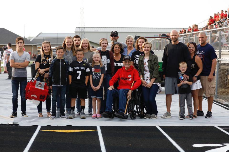 Honoring a dedicated panther
